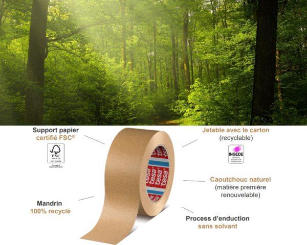 adhésif emballage écologique