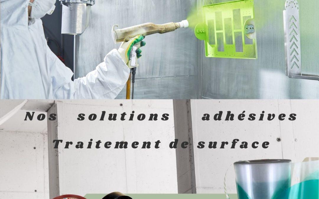 Nos solutions adhesives traitement de surface
