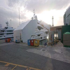 protection themo bachage chantier navire